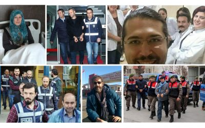 TURKEY PURGE IN PAST 8 DAYS: 358 arrested, 785 detained over coup charges