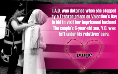 Woman detained during visit to imprisoned husband on Valentine's Day