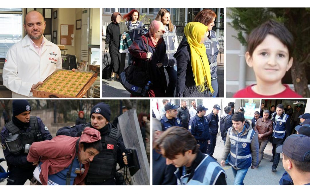 TURKEY PURGE IN PAST 9 DAYS: 4,464 dismissed, 237 arrested, 669 detained over coup charges