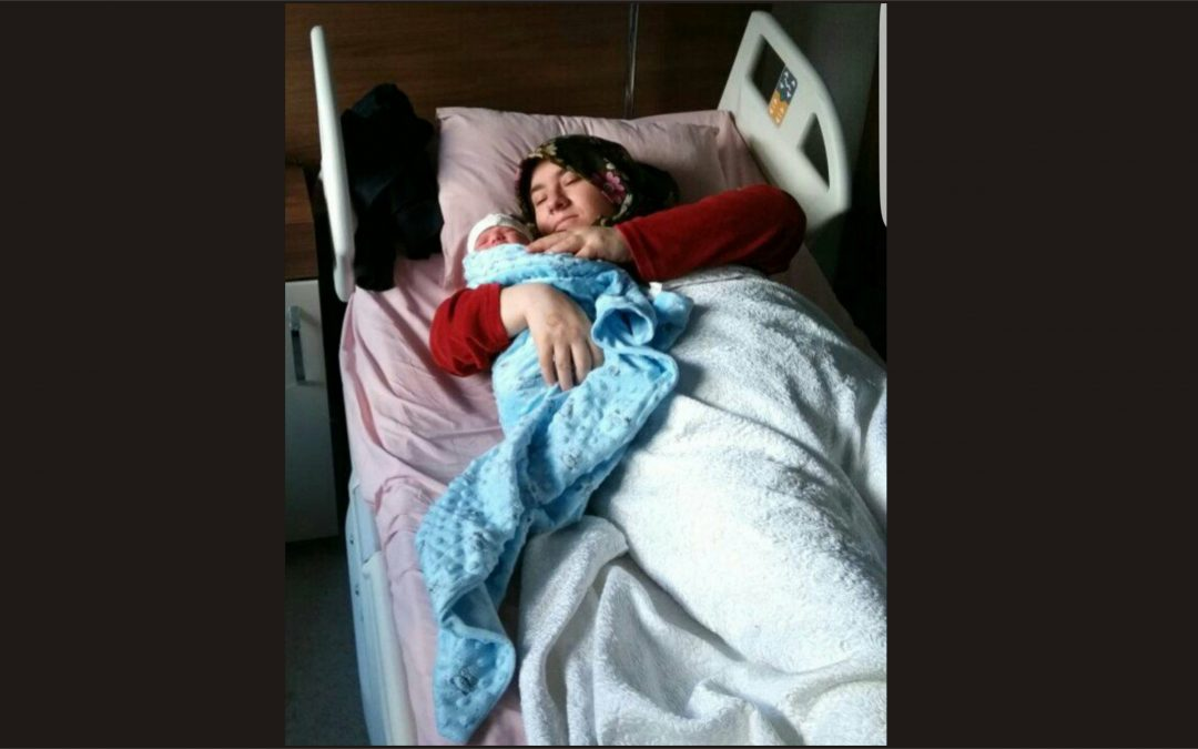 Police detain woman who just gave birth at Mersin City Hospital