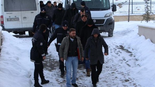 11 police officers arrested over alleged coup involvement in Sivas