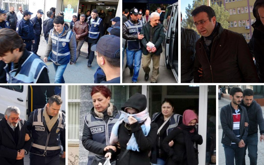 TURKEY PURGE IN PAST 24 HOURS: 91 arrested, 233 others detained over coup charges
