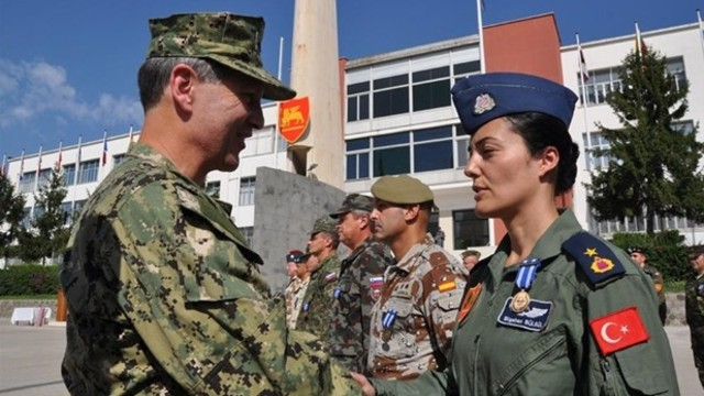 Turkey's first female fleet commander under detention over coup involvement