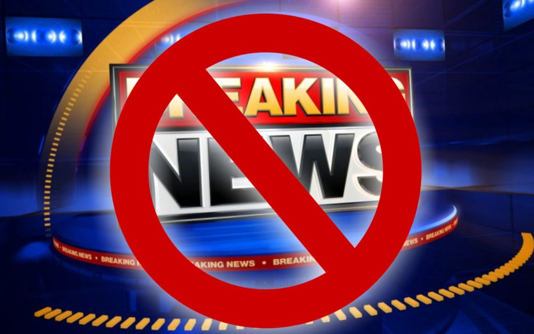 [BREAKING] Reporting 'breaking news' banned in Turkey