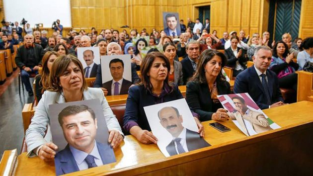 3,126 years in prison, 18 life sentences in total sought for 55 pro-Kurdish HDP deputies