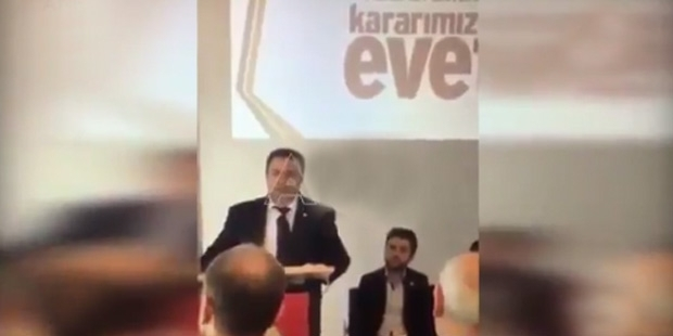AKP's Austria head: Rejection of executive presidency would lead to civil war