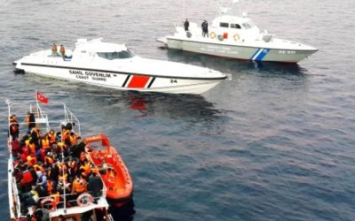 2 academics, 9 others detained while on way to escape to Greece
