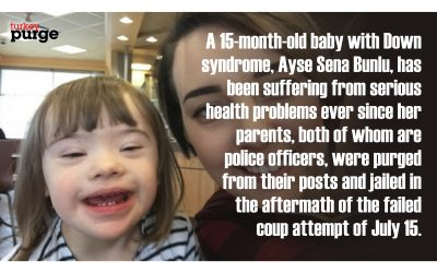 Baby with Down syndrome suffers major health problems in absence of jailed parents