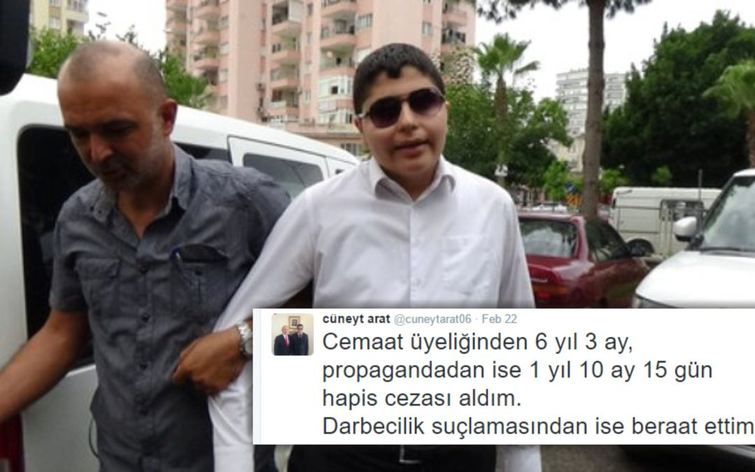 Visually impaired journalist sentenced to 6 years in jail over Gulen links
