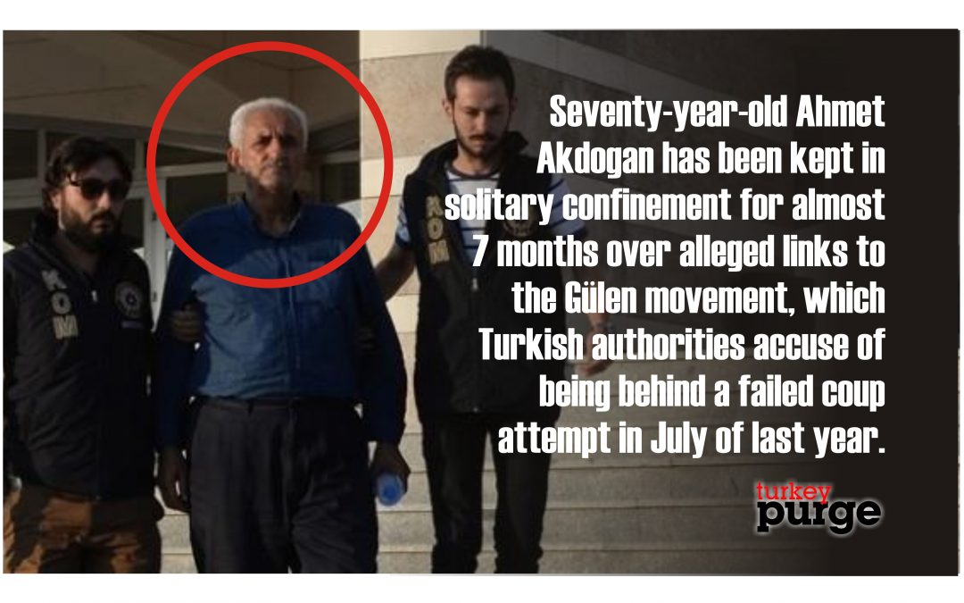70-year-old man kept in solitary confinement for 7 months over alleged coup involvement