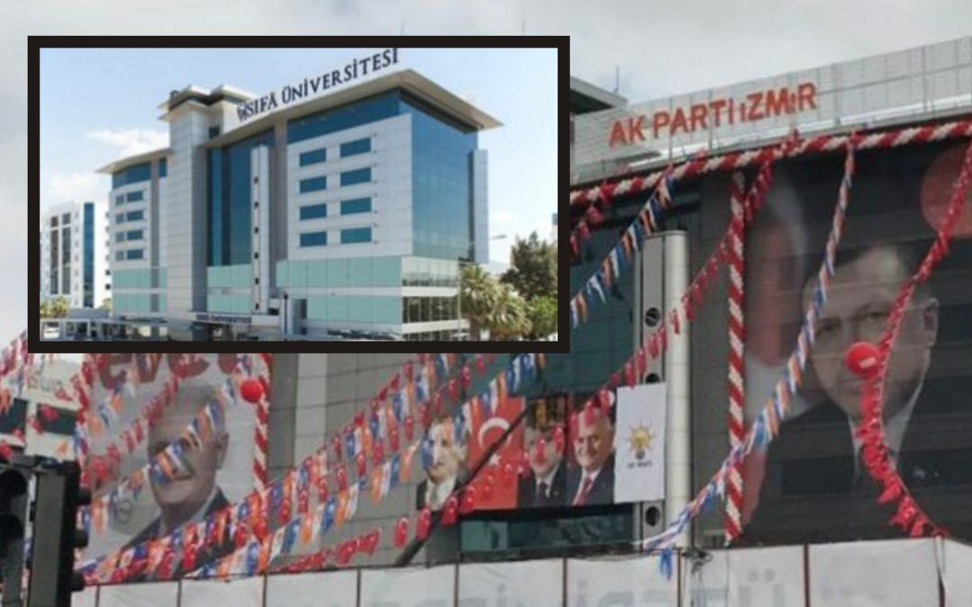 Turkish gov't turns seized university into party headquarters