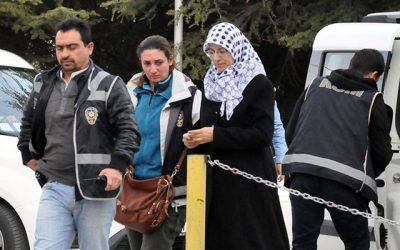 With husband already in jail, woman along with two children detained in post-coup investigation