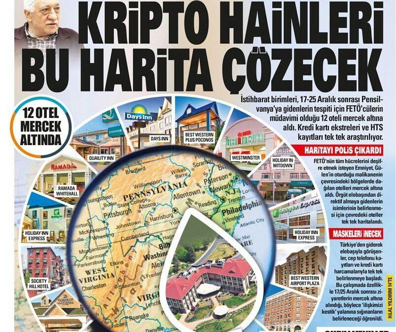 Turkish intel spying on 12 hotels in US, collecting clients' personal data
