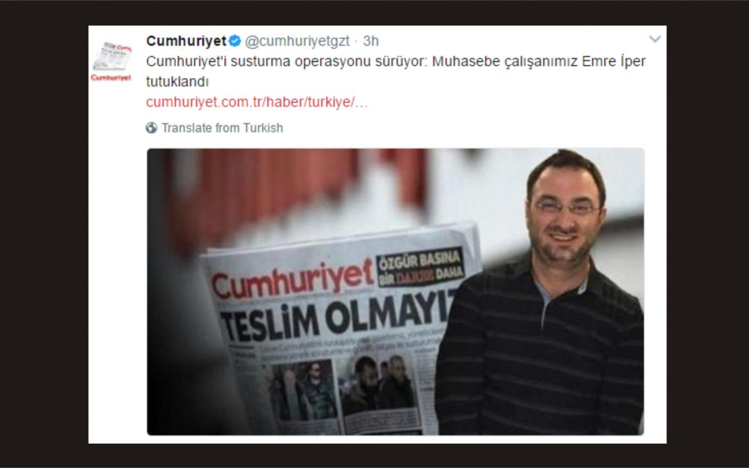 İstanbul court jails Cumhuriyet accountant over alleged ByLock use