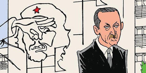 Actor sentenced to 11 months in prison for sharing Erdogan cartoon