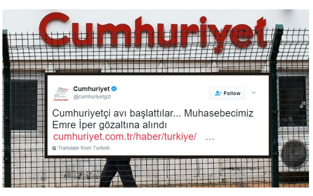 Cumhuriyet accountant under detention over ByLock use