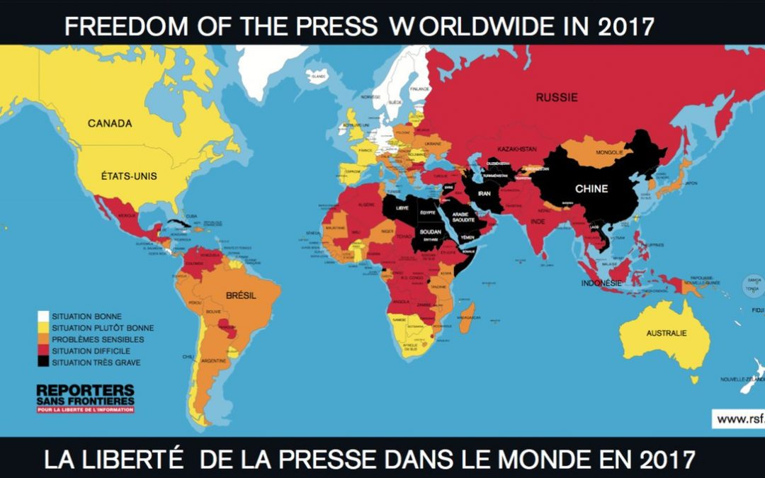 Surpassed by Congo, Mali and Ethiopia; Turkey ranks 155th in World Press Freedom Index