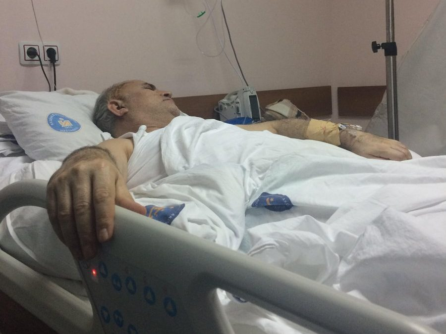 Top judge, paralysed after cancer surgery, under arrest at hospital