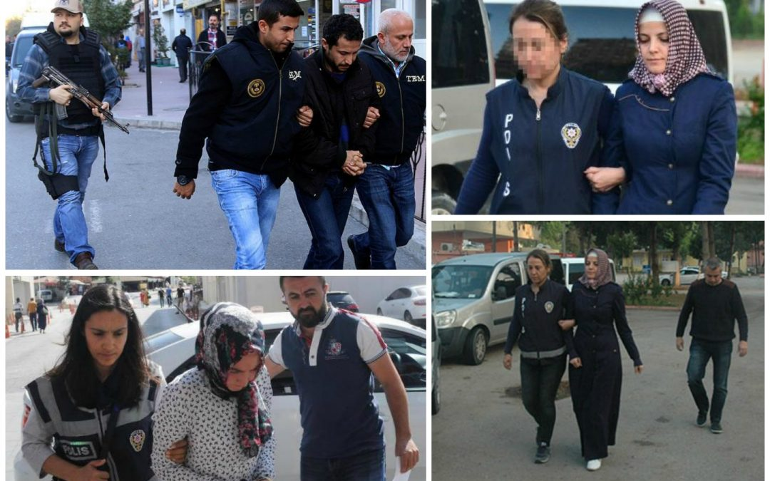 963 detained over alleged Gülen links in past week: ministry