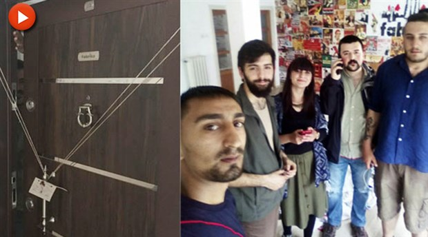 Police seal off workshop established by socialist students in Ankara