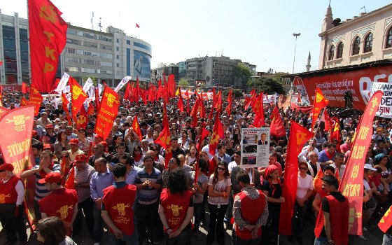 Turkey's communist party denied permission to hold public rally in İstanbul