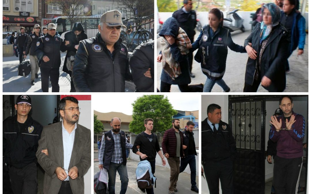 Ministry: 1,542 detained over 'terror charges' in past week
