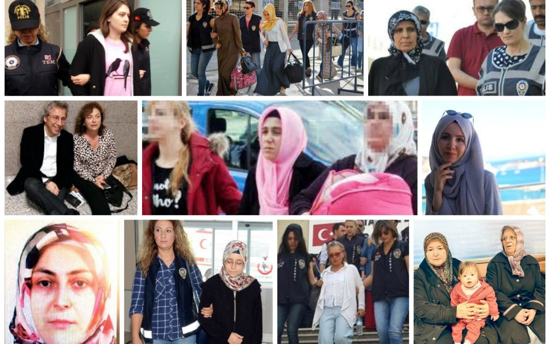 Turkey increasingly jails women as part of post-coup intimidation campaign: report
