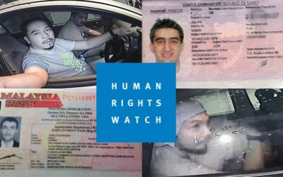 Human Rights Watch urges immediate lawyer access for detained Turks in Malaysia