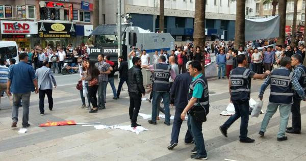 34 detained during protests to mark 44th anniversary of Deniz Gezmiş's execution