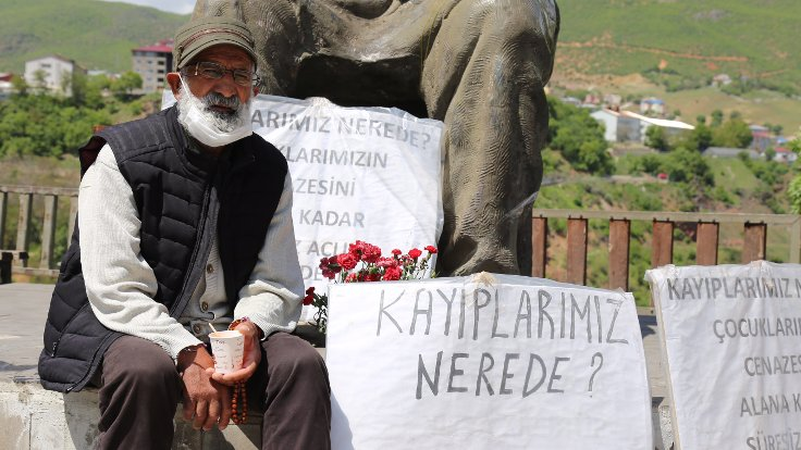 Septuagenarian loses 13 kg during hunger strike to protest son's killing by Turkish military