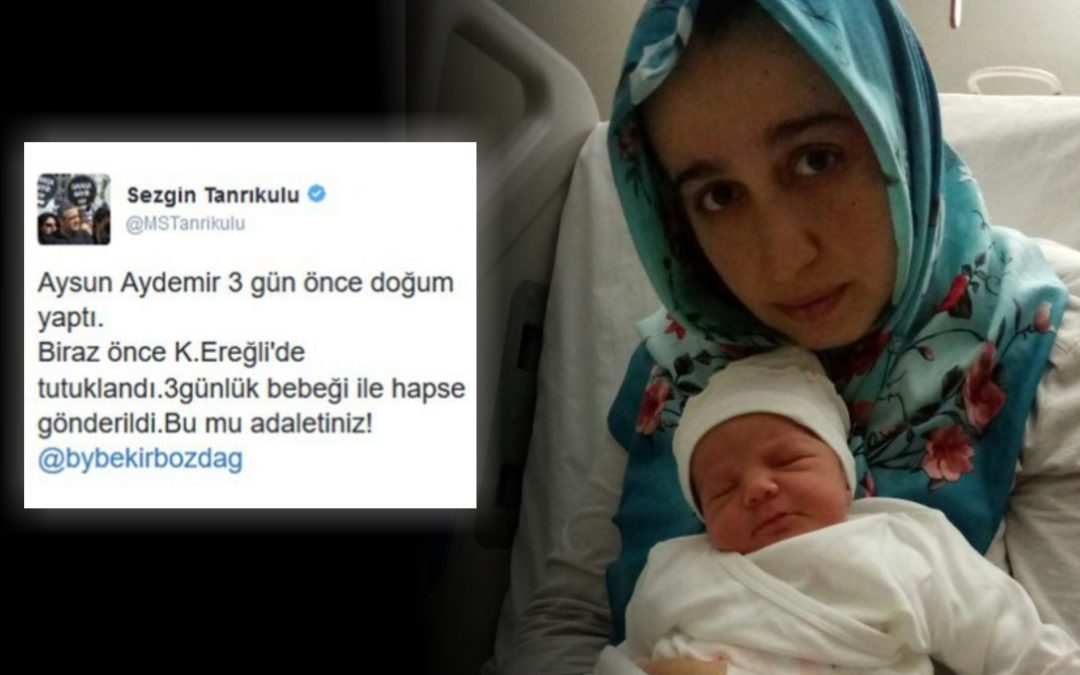 Woman detained at hospital, jailed with 3-day-old baby over coup alleged involvement
