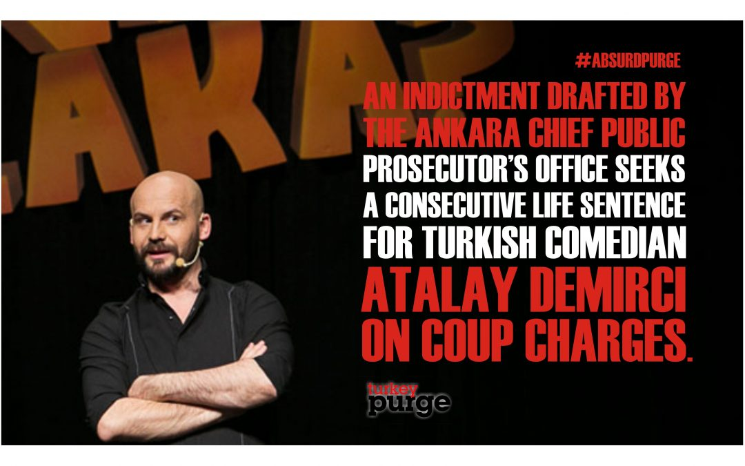 Indictment against Turkish comedian Demirci accepted by Ankara court