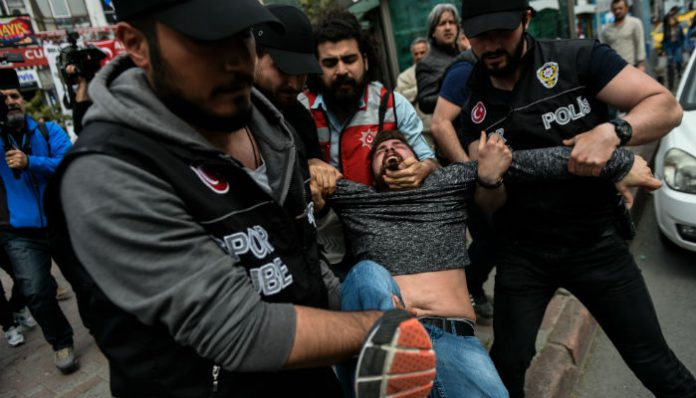 At least 165 detained during May Day celebrations in İstanbul