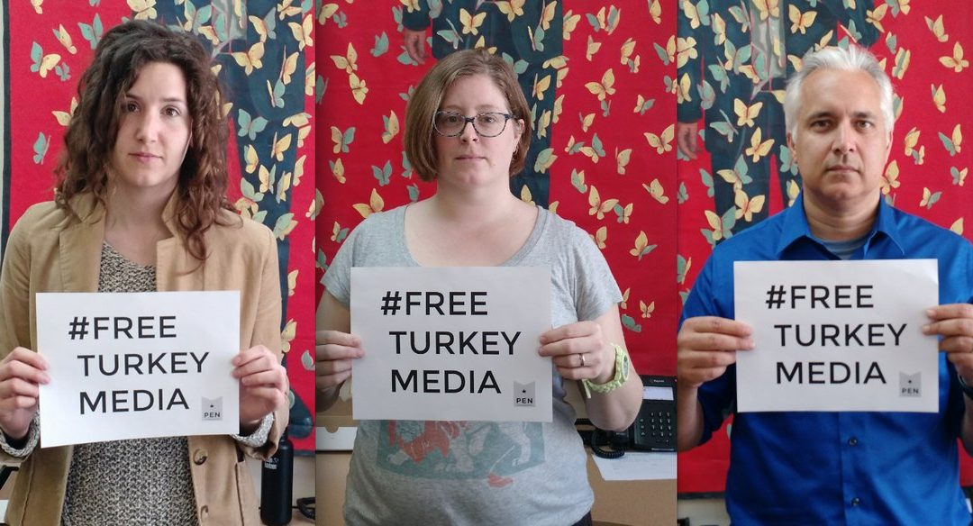 PEN Canada joins campaign for release of Turkey's jailed journalists