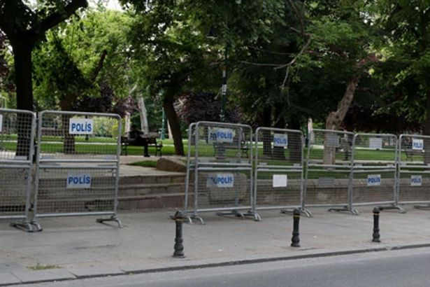 Gezi Park sealed off days before anniversary of 2013 anti-gov't protests