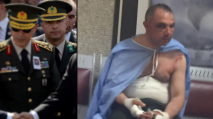 Turkish military chief's aide says tortured while giving testimony