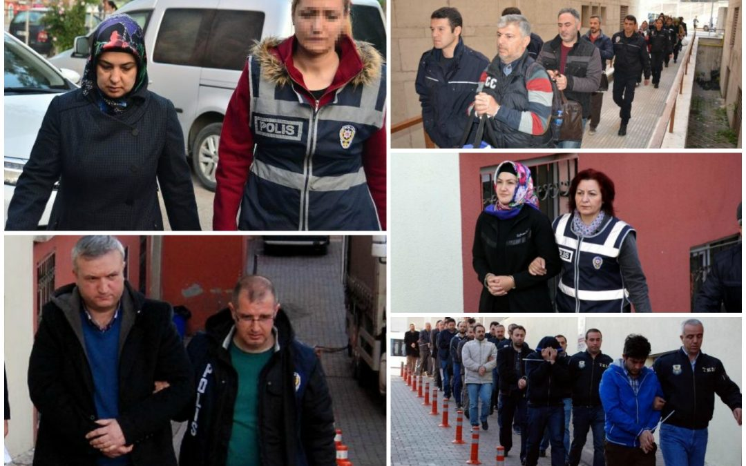 Ministry: 2,331 detained in operations targeting Gülen movement over past week