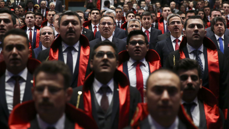 Turkey detains two more judges after dismissing them from profession