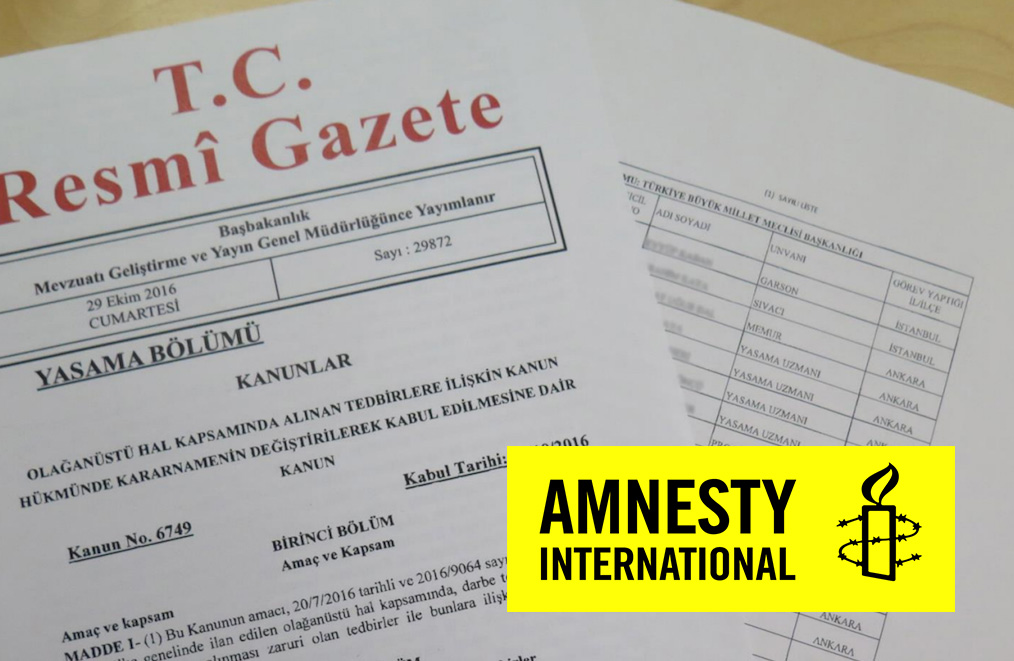 Amnesty International says post-coup purge victims denied a future in Turkey