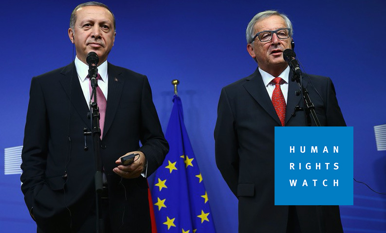 HRW urges EU economic pressure on Turkey to end rights abuses