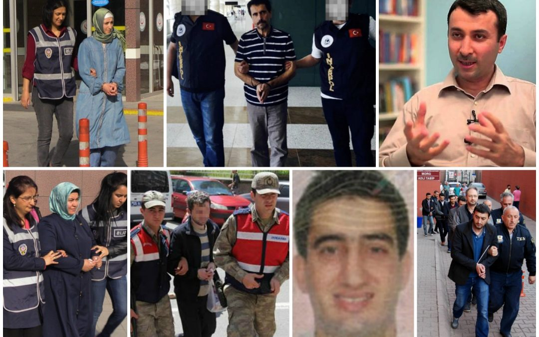 Ministry: 767 detained in operations targeting Gülen movement over past week