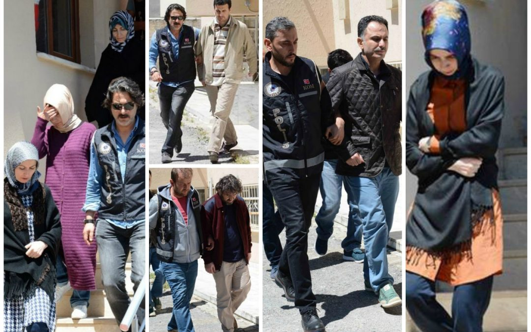 Architect, teacher, academic and 8 others detained near Greek border before escaping Turkey's crackdown