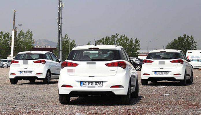 AK Party municipality rejects leased cars due to Gülen's initials in license plates