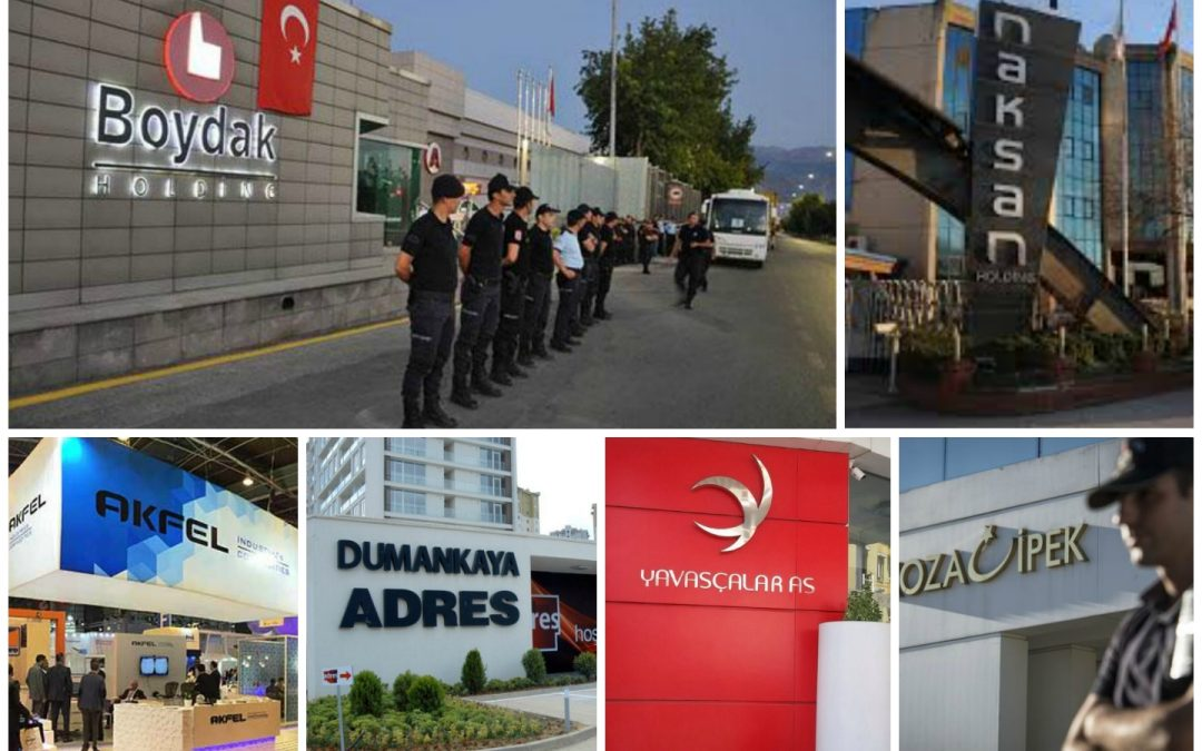 Turkey seizes 43 more companies over coup charges, brings total to 922