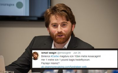 Academic to run 10000m to raise money for purge victims in Turkey
