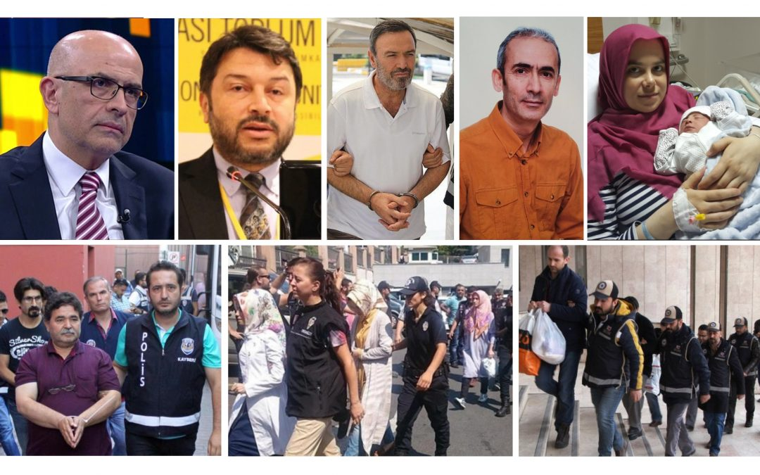 TURKEY PURGE IN PAST 15 DAYS: 1601 detained, 895 jailed over coup charges