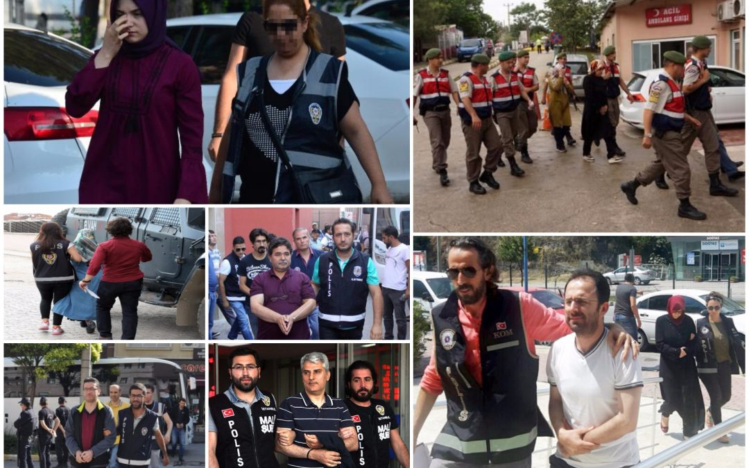 Ministry: 930 detained in operations targeting Gülen movement over past week
