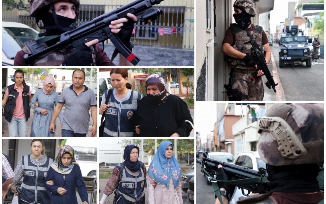 Police, special ops forces detain 30 including housewives