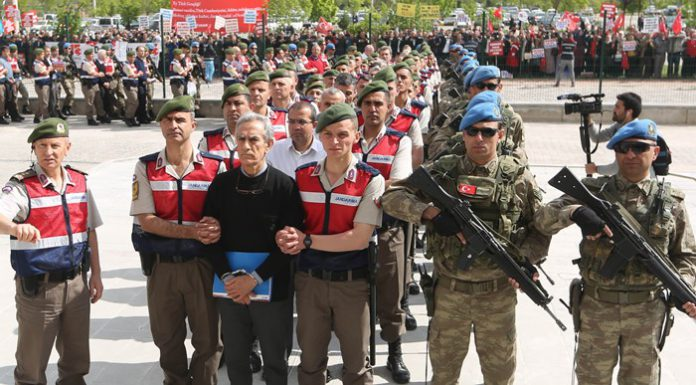 First sentences handed down: 18 coup suspects get aggravated life sentences in Ankara