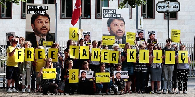 Amnesty launches campaign for release of AI Turkey chairman